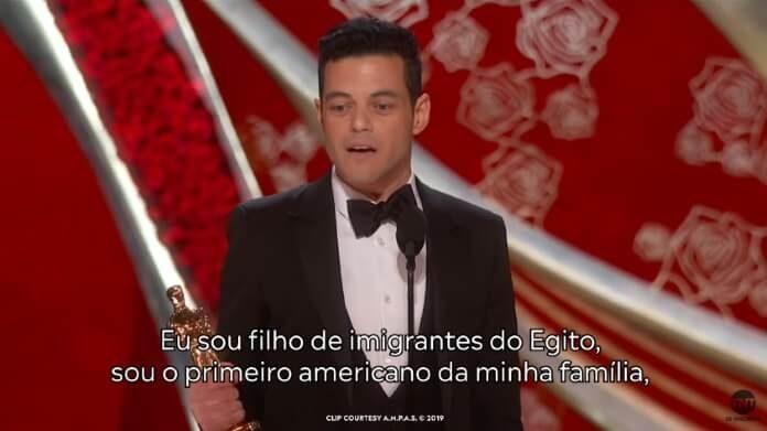 Rami Malek e seu discurso no Oscar 2019