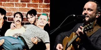 Red Hot Chili Peppers e Dave Matthews Band