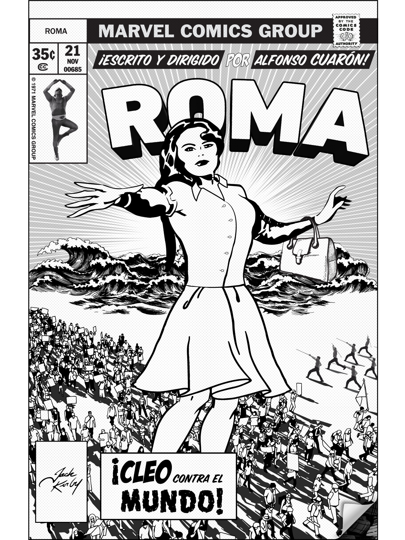 Pôster alternativo de Roma