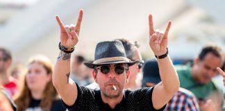 Fã de Rock em Festival