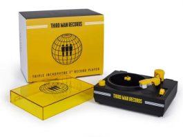Vitrolinha da Third Man Records para discos de 3 polegadas