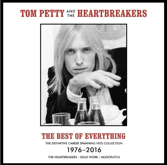 "Capa de ""The Best Of Everything"", de Tom Petty"