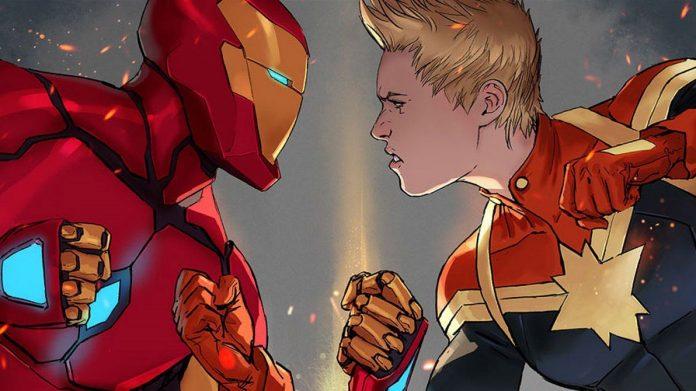 Guerra Civil 2 foi entre Homem de Ferro e Capitã Marvel
