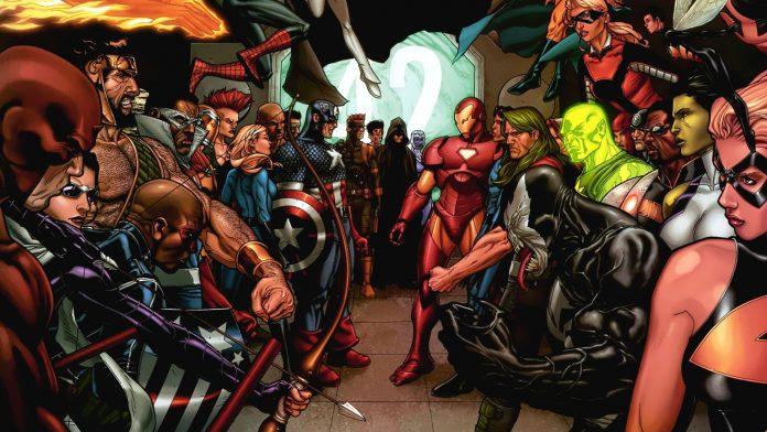 Guerra Civil da Marvel, evento com grande participação de Carol Danvers