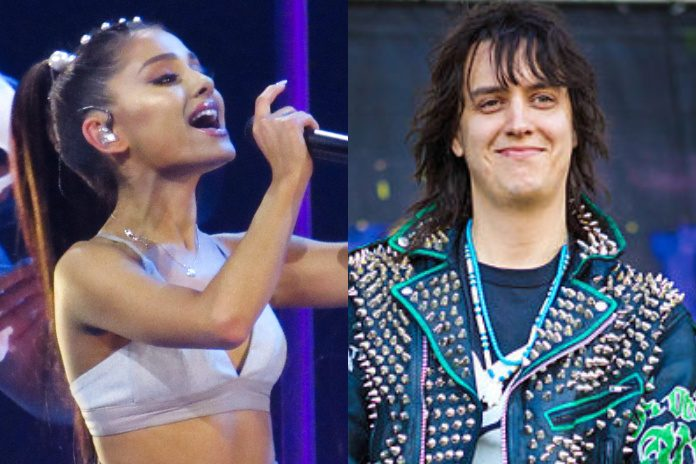 Ariana Grande e Julian Casablancas (The Strokes) no Lollapalooza Chicago