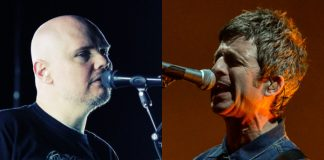 Billy Corgan (Smashing Pumpkins) e Noel Gallagher