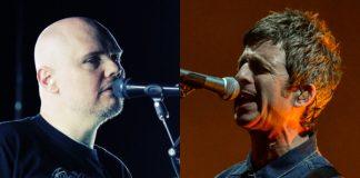 Billy Corgan (Smashing Pumpkins) e Noel Gallagher