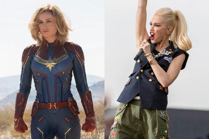 Capitã Marvel e Gwen Stefani (No Doubt)