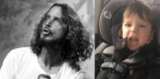 Chris Cornell (Soundgarden) e garotinho de 4 anos