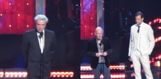 David Byrne e Radiohead Hall of Fame