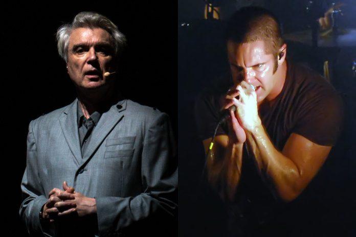 David Byrne e Trent Reznor Hall da Fama