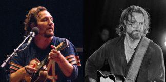 Eddie Vedder (Pearl Jam) e Bradley Cooper (Nasce Uma Estrela)(1)