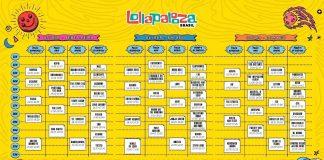 Horários Lollapalooza 2019 Geral