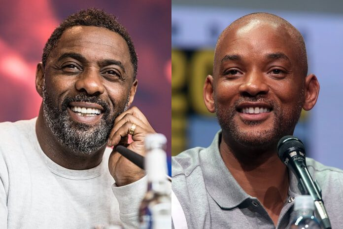 Idris Elba e Will Smith (Esquadrão Suicida)