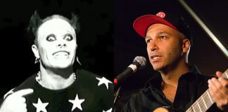 Keith Flint (Prodigy) e Tom Morello (Rage Against The Machine)