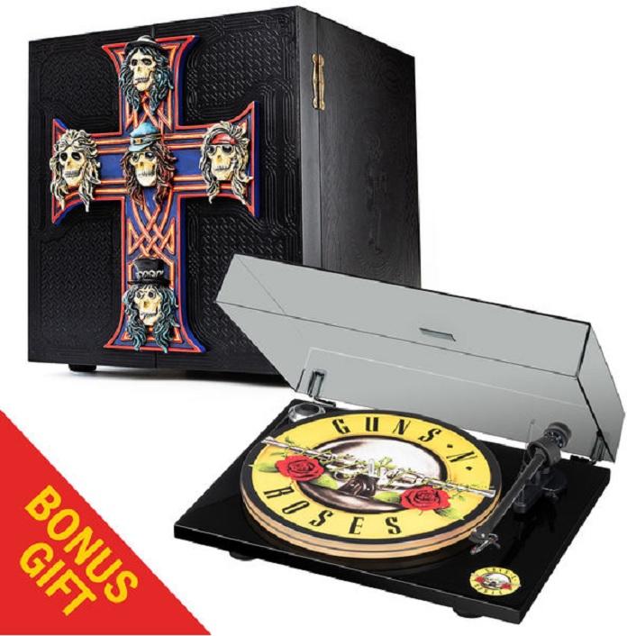 Locked and Loaded e vitrola Guns N' Roses