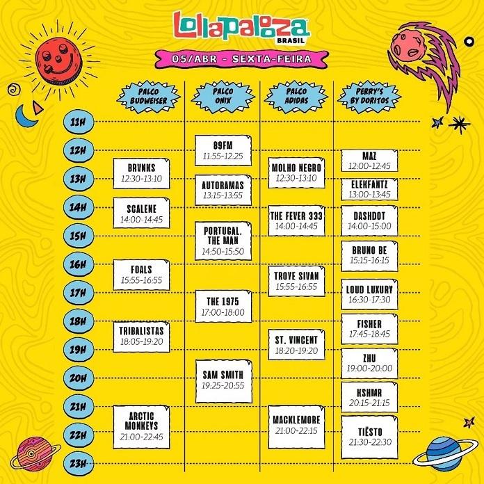 Lollapalooza 2019 Sexta
