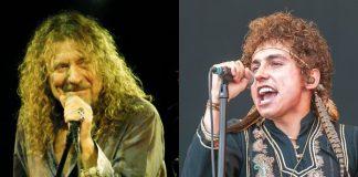 Robert Plant (Led Zeppelin) e Greta Van Fleet