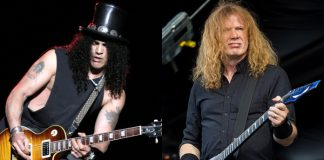 Slash e Dave Mustaine (Megadeth)