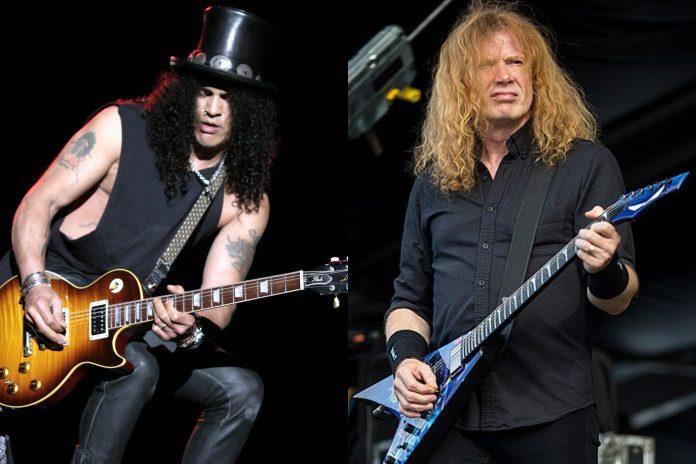Slash e Dave Mustaine (Megadeth)