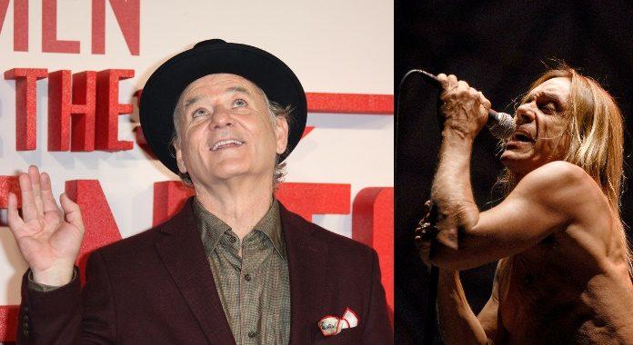 Bill Murray e Iggy Pop