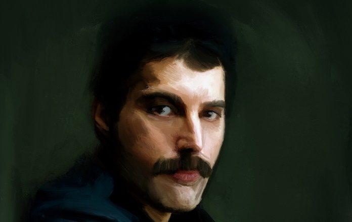 Pintura de Freddie Mercury