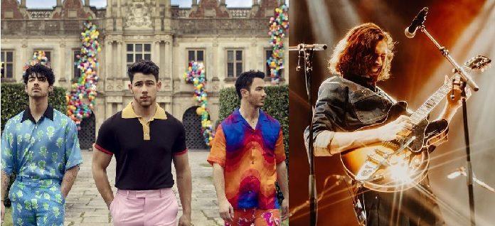 Jonas Brothers e Hozier