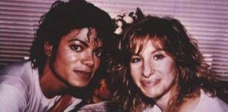 Michael Jackson e Barbra Streisand