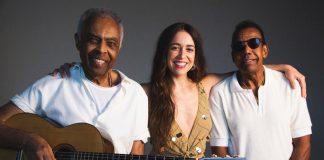 Gilberto Gil, Roberta Sá e Jorge Ben