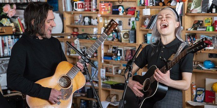 Better Oblivion Community Center - Conor Oberst e Phoebe Bridgers no Tiny Desk