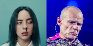 Billie Eilish e Flea (Red Hot Chili Peppers)