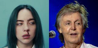 Billie Eilish e Paul McCartney