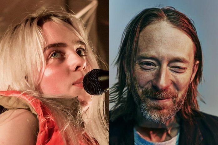 Billie Eilish e Thom Yorke (Radiohead)