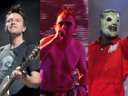 Blink-182, Tool e Slipknot no Aftershock festival