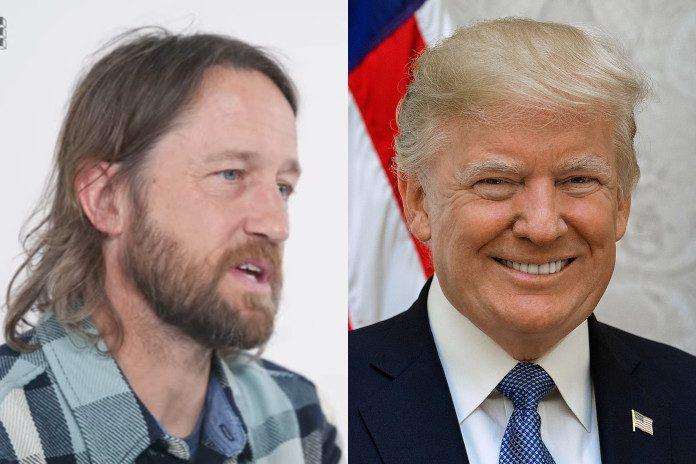 Chris Shiflett (Foo Fighters) e Donald Trump