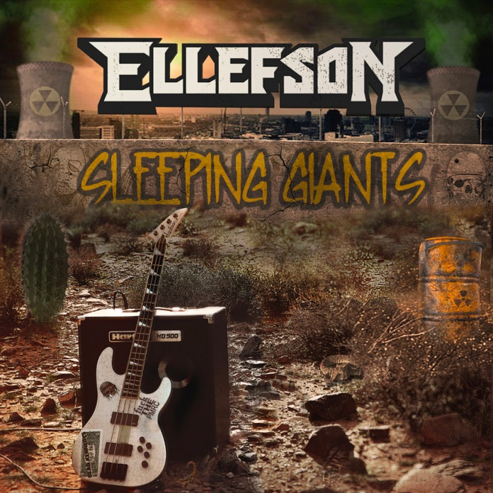 David Ellefson Sleeping Giants capa