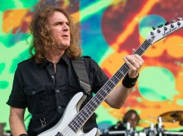 David Ellefson, baixista do Megadeth