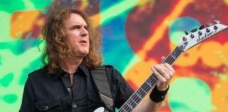 David Ellefson, baixista do Megadeth