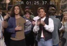 Eddie Vedder homenageando Kurt Cobain no SNL