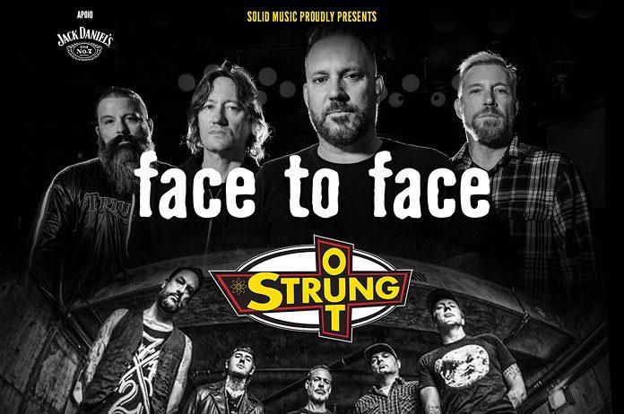Face to Face e Strung Out no Brasil 2019
