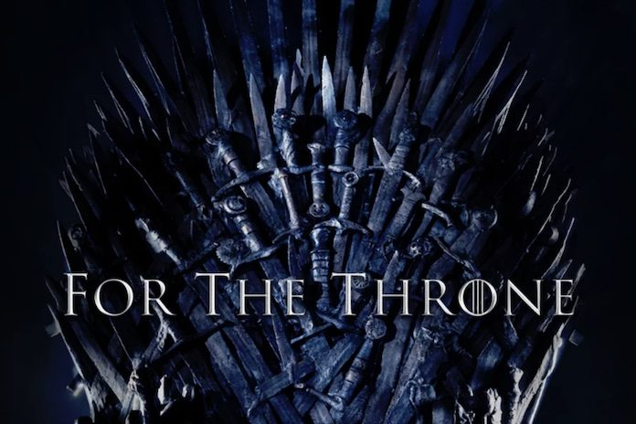 For The Throne - capa de coletanea de Game of Thrones