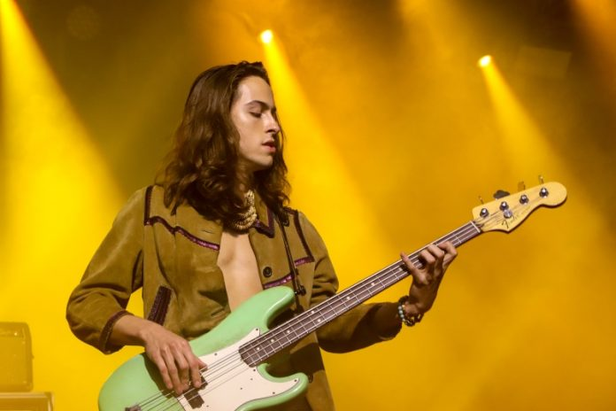 Sam Kiszka, baixista do Greta Van Fleet