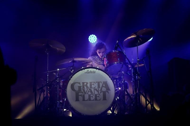Greta Van Fleet em São Paulo, 2019