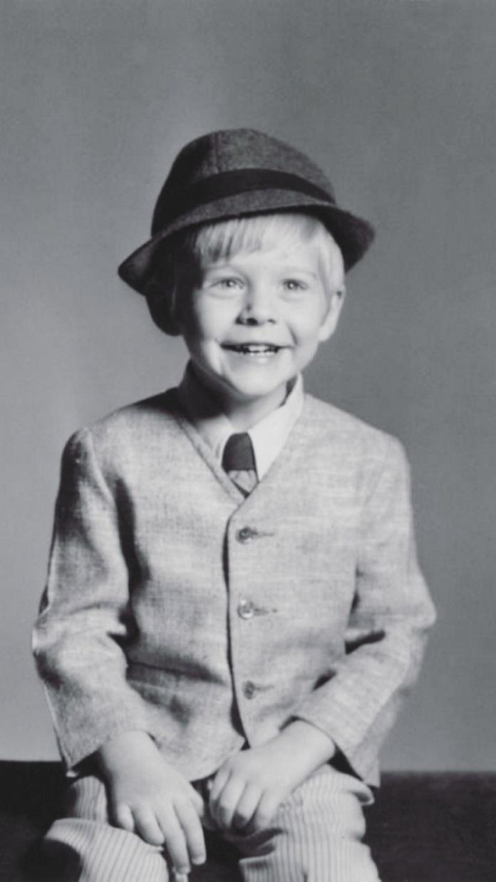 Kurt Cobain Criança