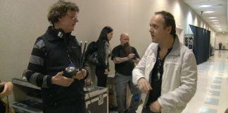 Lars Ulrich (Metallica) e fã com autismo