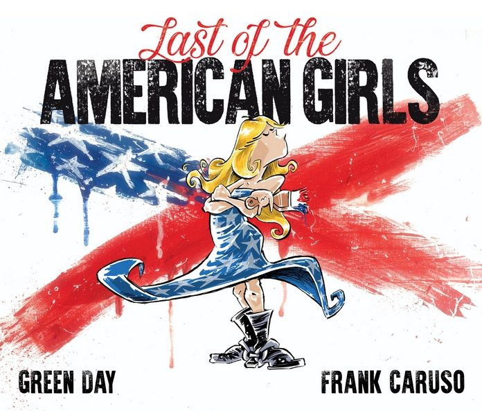 Livro ilustrado Green Day, Last Of The American Girls
