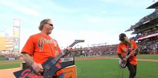 Metallica James Hetfield Kirk Hammett Hino EUA