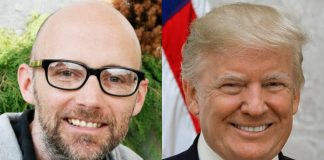 Moby e Donald Trump