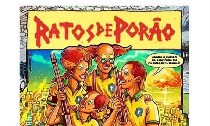 Pôster Dead Kennedys Ratos de Porão (João Gordo)