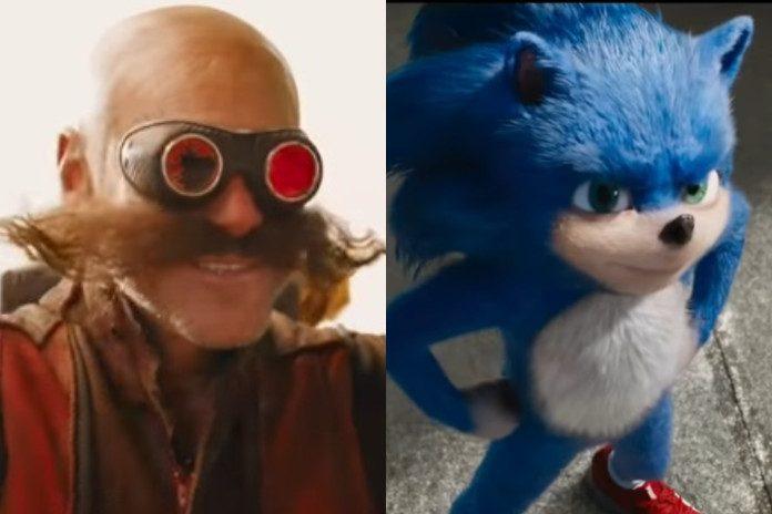 Trailer de Sonic com Jim Carrey